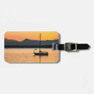 Sunset Serenity Luggage Tag