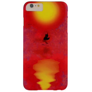 Sunset Ship Barely There iPhone 6 Plus Case