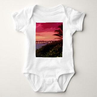 sunset shock baby bodysuit