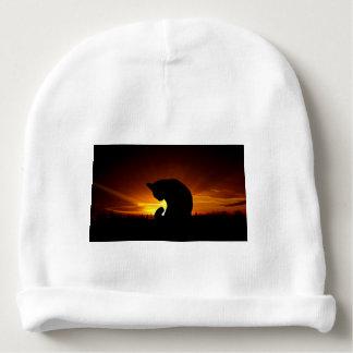 Sunset Silhouette Baby Beanie