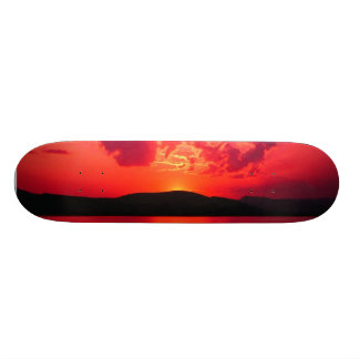Sunset Skate Deck