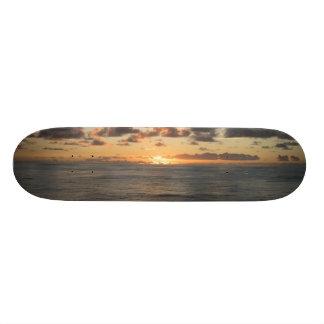 Sunset Skate Board Deck