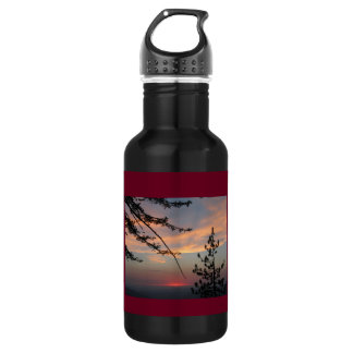 Sunset Skies 18 oz Water Bottle