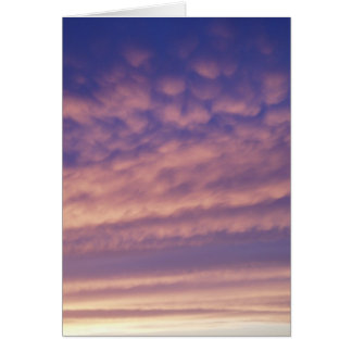 Sunset Sky Card