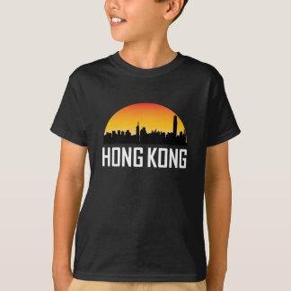 Sunset Skyline of Hong Kong China T-Shirt