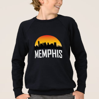 Sunset Skyline of Memphis TN Sweatshirt