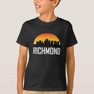 Sunset Skyline of Richmond VA T-Shirt