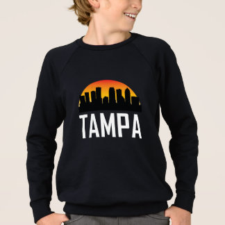 Sunset Skyline of Tampa FL Sweatshirt