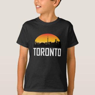 Sunset Skyline of Toronto ON T-Shirt