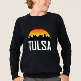 Sunset Skyline of Tulsa OK Sweatshirt