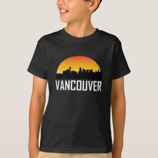 Sunset Skyline of Vancouver BC T-Shirt