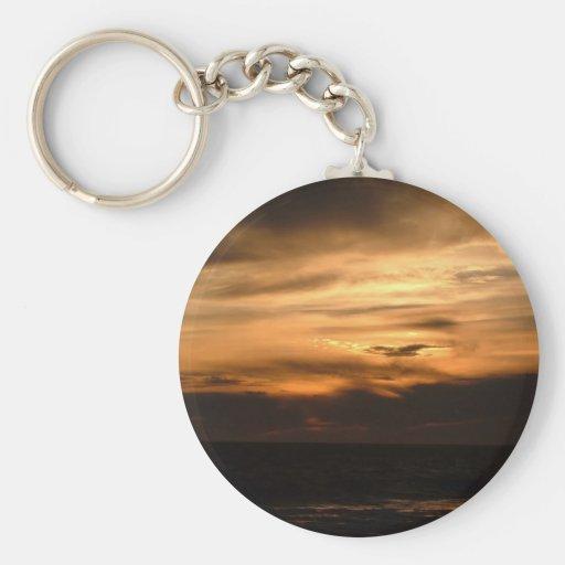 Sunset Smokey Haze Keychains