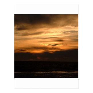 Sunset Smokey Haze Postcards