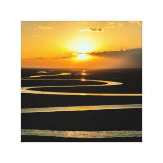 Sunset Snake River Canvas Art