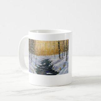 SUNSET SNOW ON BEARGRASS CREEK MUG