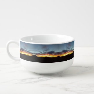 Sunset Soup Bowl