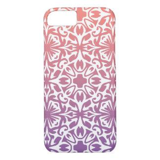 Sunset Spanish Tile Overlay Pattern iPhone 7 Case