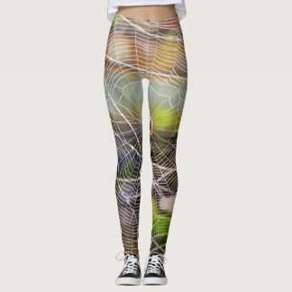 Sunset spider leggings