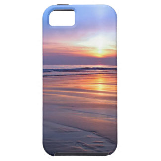Sunset St Bees Footprint iPhone 5 Cover