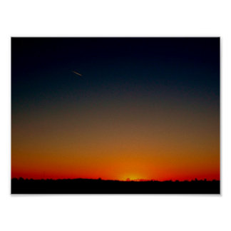 Sunset Star Poster