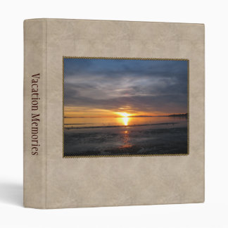 Sunset Storm 3 Ring Binder