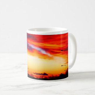 Sunset Street Scene 01 Coffee Mug