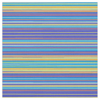 sunset stripes fabric