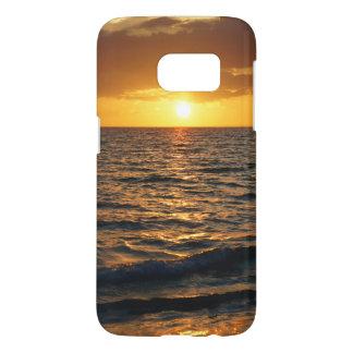 Sunset Summer Beach Scenic Samsung Galaxy S7 Case