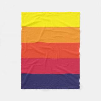 Sunset Summer Fleece Blanket