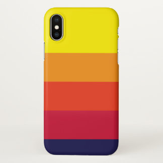 Sunset Summer iPhone X Case