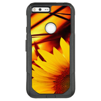 Sunset & sunflower OtterBox commuter google pixel XL case