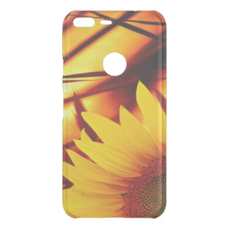 Sunset & sunflower uncommon google pixel XL case