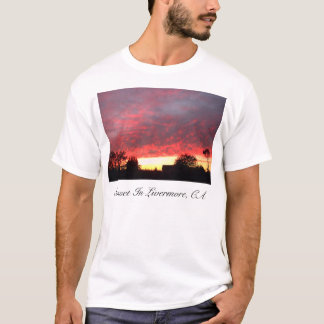 Sunset, Sunset In Livermore, CA T-Shirt