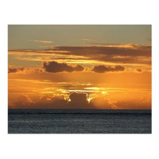 Sunset - Sunset - Mauritius Postcard