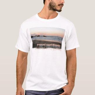 sunset surf Biarritz T-Shirt