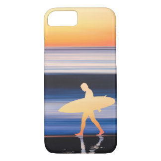 Sunset Surf iPhone 7 Case