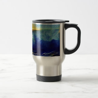 Sunset Surf Makaha Travel Mug