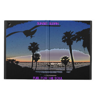 Sunset Surfin - Fuel for the soul iPad Air Cover