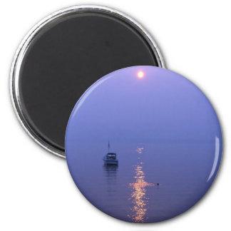 Sunset Swim Magnet