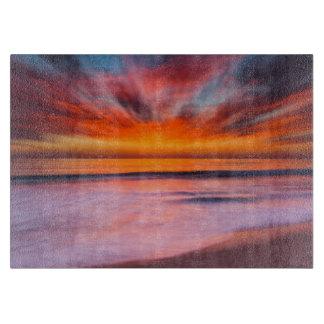 Sunset Tamarack Beach | Carlsbad, CA Cutting Board
