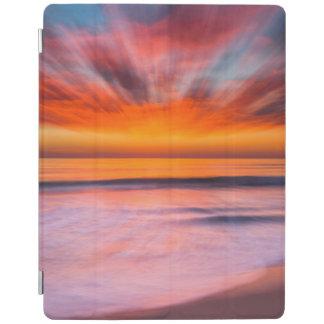 Sunset Tamarack Beach | Carlsbad, CA iPad Cover