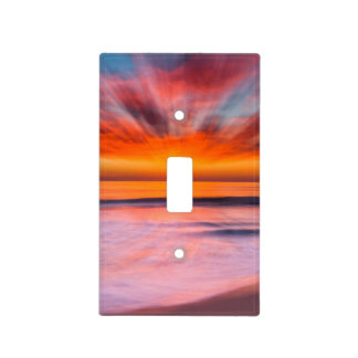Sunset Tamarack Beach | Carlsbad, CA Light Switch Cover