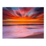 Sunset Tamarack Beach | Carlsbad, CA Postcard