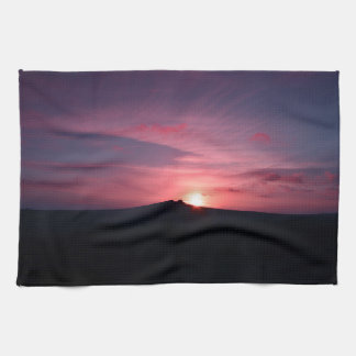 Sunset Tea Towel
