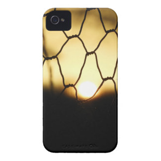 Sunset through the fence iPhone 4 Case-Mate cases
