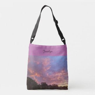 Sunset Tote Christian Scripture Be Still