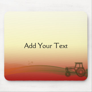 Sunset Tractor Mousepad