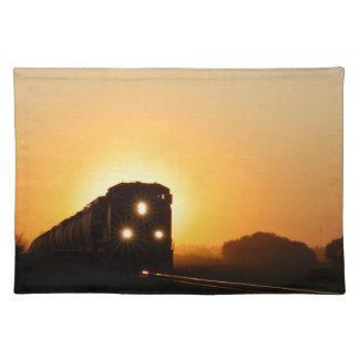 Sunset Train Placemat