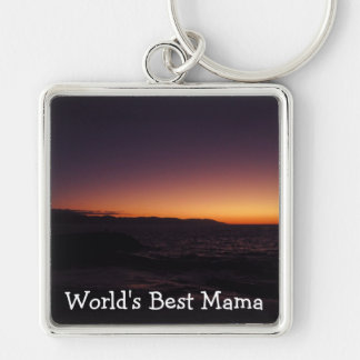 Sunset Transition; Happy Mother's Day Keychain