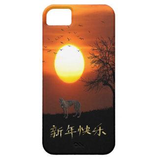 Sunset, Tree, Birds, Greyhound, Dog iPhone 5 Cover